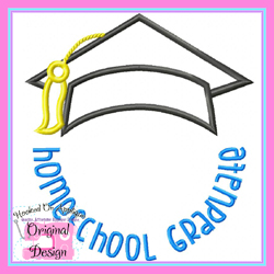 Homeschool Graduate 2 Applique