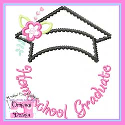 Homeschool Graduate Applique