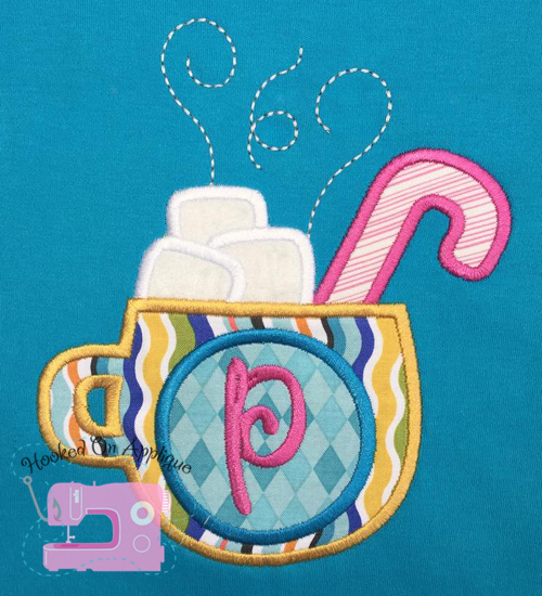 Hot Cocoa Applique