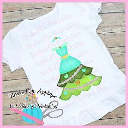 Jasmine Tree Dress PNG Printable