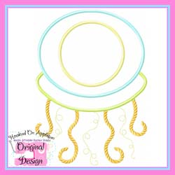 Jellyfish Boy 2 Applique