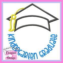 Kindergarten Graduate 2 Applique