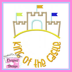 King of the Castle Applique