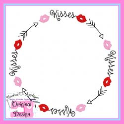 Kisses Arrow Frame