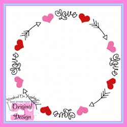 Love Arrow Frame