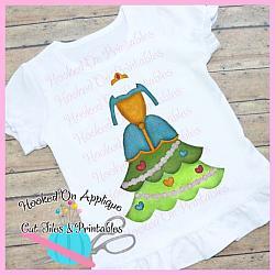 Merida Tree Dress PNG Printable