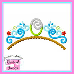 Ocean is Calling Tiara Applique
