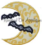 Moon Bats Applique