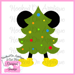 Mr Mouse Christmas Tree CUT FILE