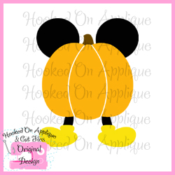 Mr Mouse Pumpkin CUT FILE