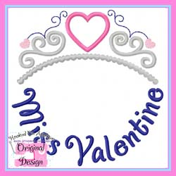 Miss Valentine Applique