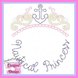 Nautical Princess Vintage Stitch