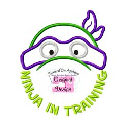 Ninja in Training Applique