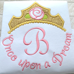 Once Upon A Dream Tiara Phrase