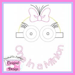 One in a Minion Vintage Stitch