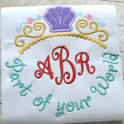 Part of your World Tiara Phrase