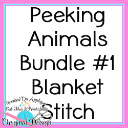 Peek Animals 1 Blanket Stitch Bundle