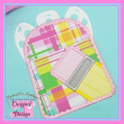 Pencil Backpack Applique