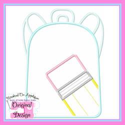 Pencil Backpack 2 Applique