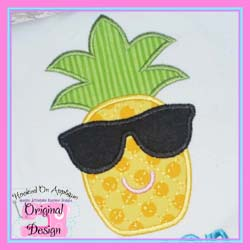 Pineapple Sunglasses Applique