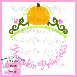 Pumpkin Princess CUT FILE
