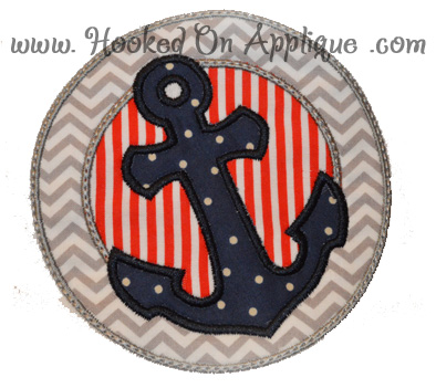 Porthole Anchor Applique