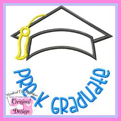 Pre K Graduate 2 Applique