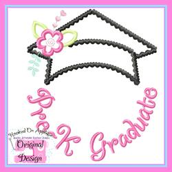 Pre K Graduate Applique