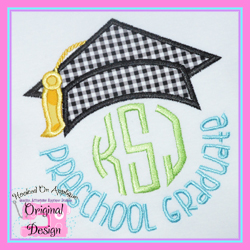 Preschool Graduate 2 Applique