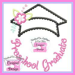 PreSchool Graduate Applique