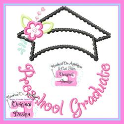 PreSchool Graduate Applique