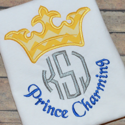 Prince Charming Applique