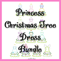 #HOA544 Princess Christmas Tree Dress Bundle