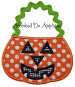 Pumpkin Bag Applique