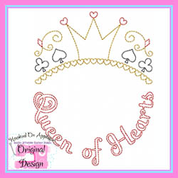 Queen of Hearts Vintage Stitch