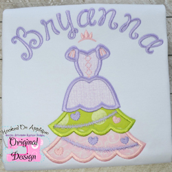 Rapunzel Tree Dress Applique