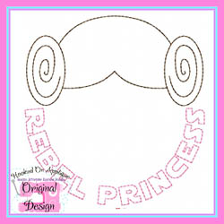 Rebel Princess Vintage Stitch