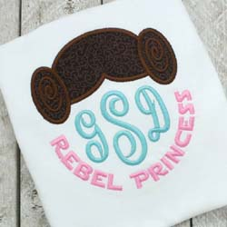 Rebel Princess Applique