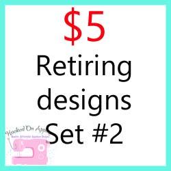 Retiring Designs Set 2