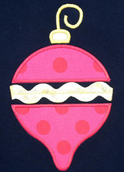 Ric Rac Ornament Applique