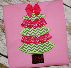 Ric Rac Tree applique