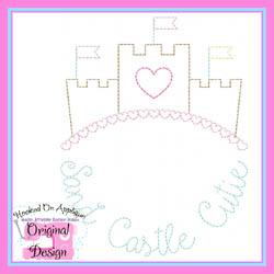 Sand Castle Cutie Vintage