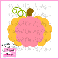 Scalloped Pumpkin CUT FILE