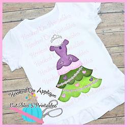 Sofia Tree Dress PNG Printable