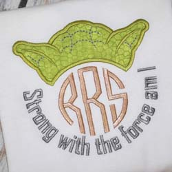 Strong with the Force Applique