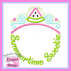 Summertime Sweetie Applique