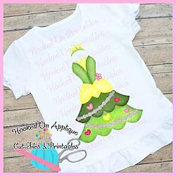 Tiana Tree Dress PNG Printable