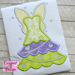 Tink Tree Dress Applique