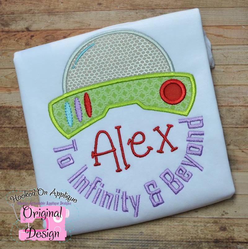 To Infinity & Beyond Applique