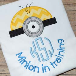 Minion in Training Applique